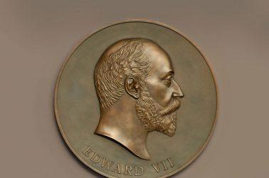 Bas Relief Edward VII