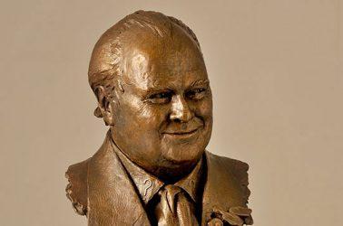 Colin Baker - Portrait Bust Sculpture