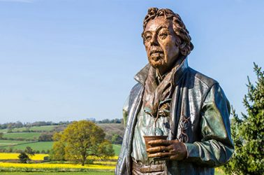 Felix Dennis Coloured Bronze - Memorial Sculpture