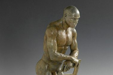Hercules Bronze Sculpture
