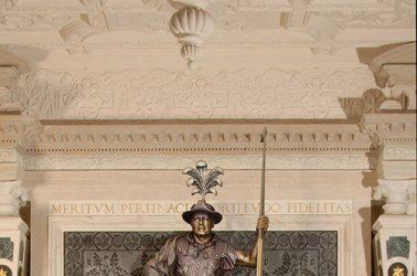 Life-Size Bronze Sculpture - Heraldic Imagery