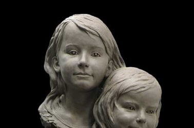 Three Sisters Portrait Sculpture