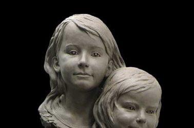 Three Sisters Portrait Sculpture